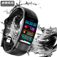 Heart rate blood pressure ECG health watch waterproof smart wrist fitness band P11, Bluetooth Health monitor fitness band P11