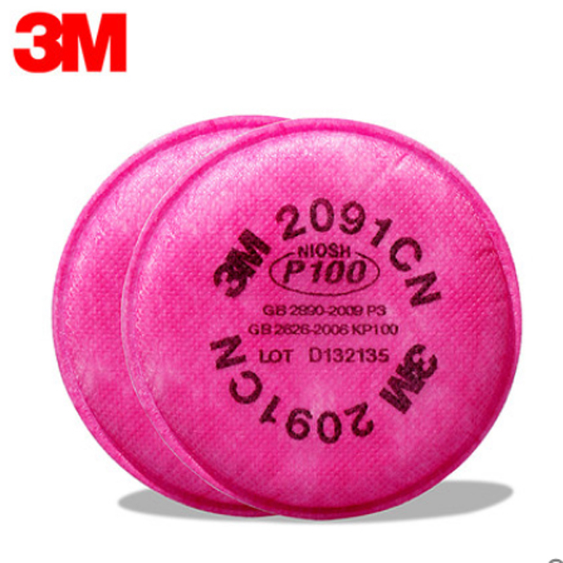 3M Particulate Filter 2091CN/07000(AAD), <strong>P100</strong> 100 EA/Case