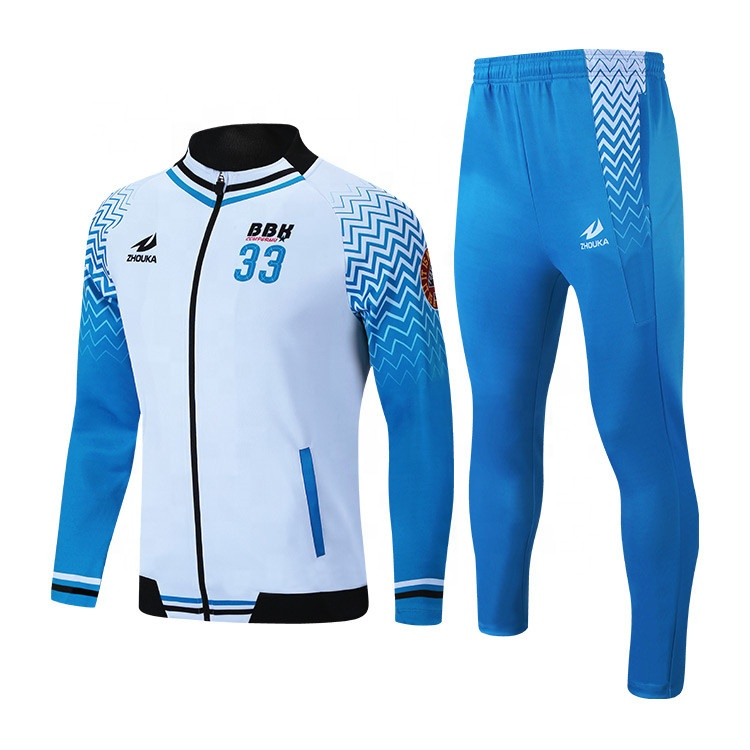 Wholesale High Quality Custom Sublimation <strong>Mens</strong> Fashion Slim Fit Sport Jogging Football Tracksuit