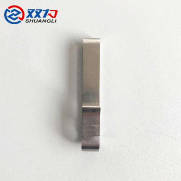 high quality titanium contracted custom laser marking high grade keychain