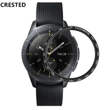 Gear S3 <strong>Case</strong> For Samsung Galaxy Watch 46mm 42mm Gear S3 Frontier/Classic Ring Adhesive watch Cover Anti watch accessories