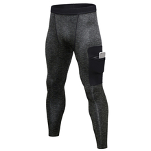 Soft elastic compression dry cool GYM sports <strong>men</strong> tight yoga pants