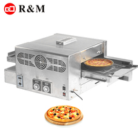 Hotel kitchen bakery machine belt 16 inch pizza oven making machine,2 minute grill barbecue lpg pizza oven