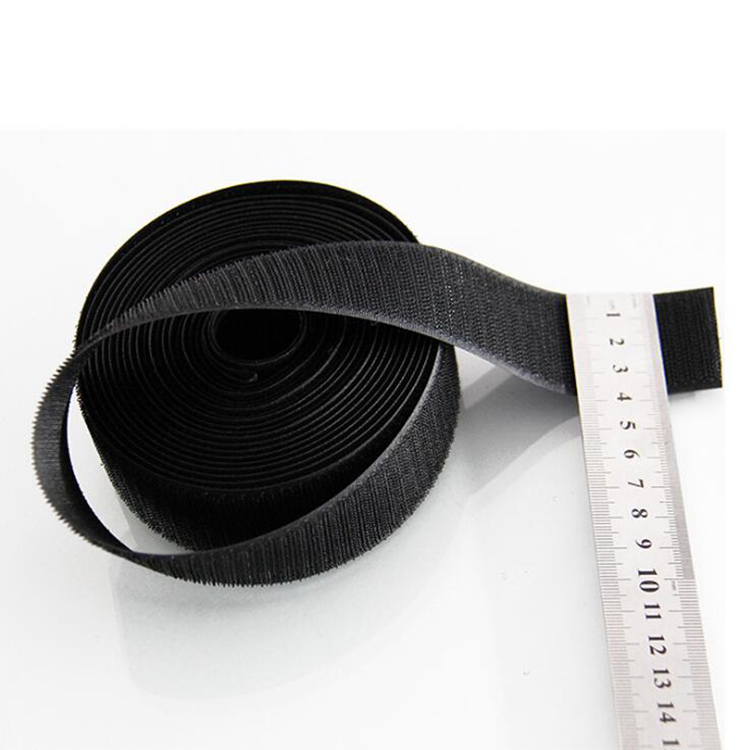 100% <strong>Nylon</strong> Black 25mm 30mm Sew On Hook and Loop