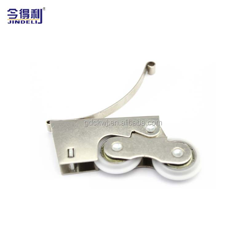 Furniture Door Accessories Wooden Door Sliding Soft Close Roller Wardrobe Door Sliding Track Roller
