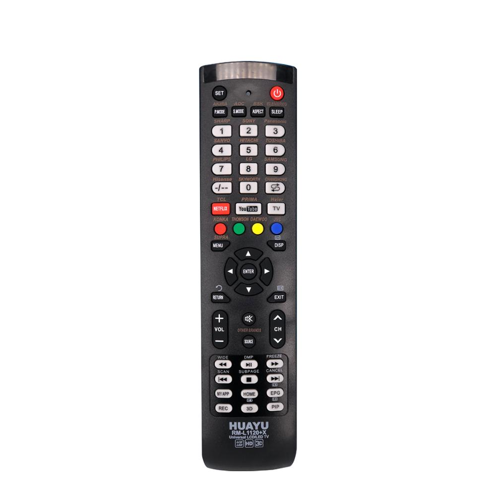 SYSTO RM-L1120+<strong>X</strong> HUAYU UNIVERSAL LCD LED TV <strong>REMOTE</strong> CONTROL