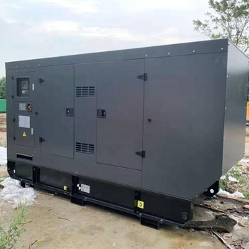 Equip with 6CTAA8.3-G2 and UC I274H Soundproof and weatherproof diesel generator set 160kw/200kva