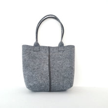 recycled Promotional gift felt <strong>bag</strong> Custom logo Flat type <strong>Fridge</strong> Magnet ladies tote shopping hand wool felt <strong>bag</strong>