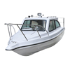 Full-cabin glass fiber high-speed fishing boat 10-meter center console boat made in China vibration-free kayak