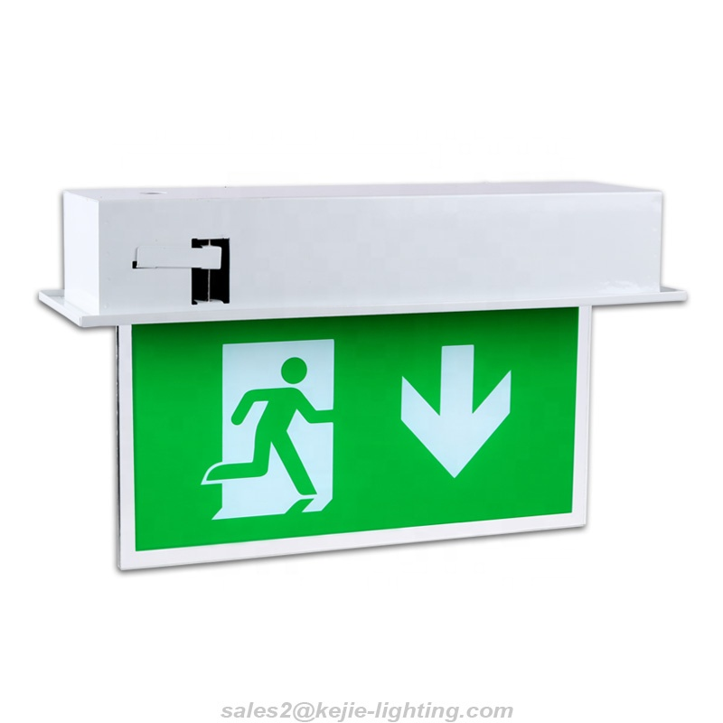 Evacuation LED Emergency Exit Sign Stair Exit Sign LED Luminous Fire Exit Safety <strong>Signs</strong>