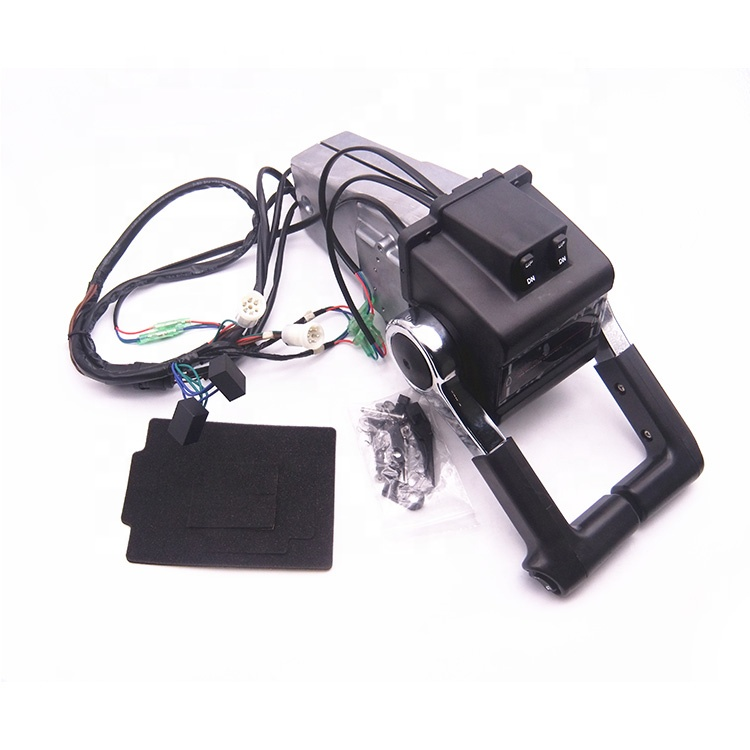 Boat Motor 704-48207-23-<strong>00</strong> 704-48207 704 Dual Twin Remote Control Box for Yamaha Outboard Engine <strong>W</strong> PT/T SW, Push