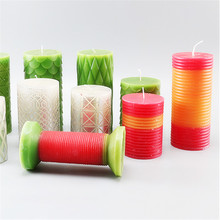 Various Round Pillar Plastic <strong>Mould</strong> for Candle Making DIY Candle Molds