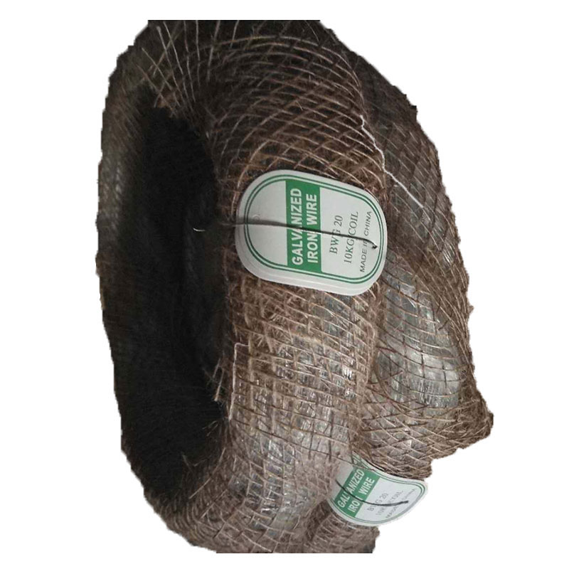 Bottom price high quality hot dipped <strong>Q195</strong> low carbon galvanized steel iron wire