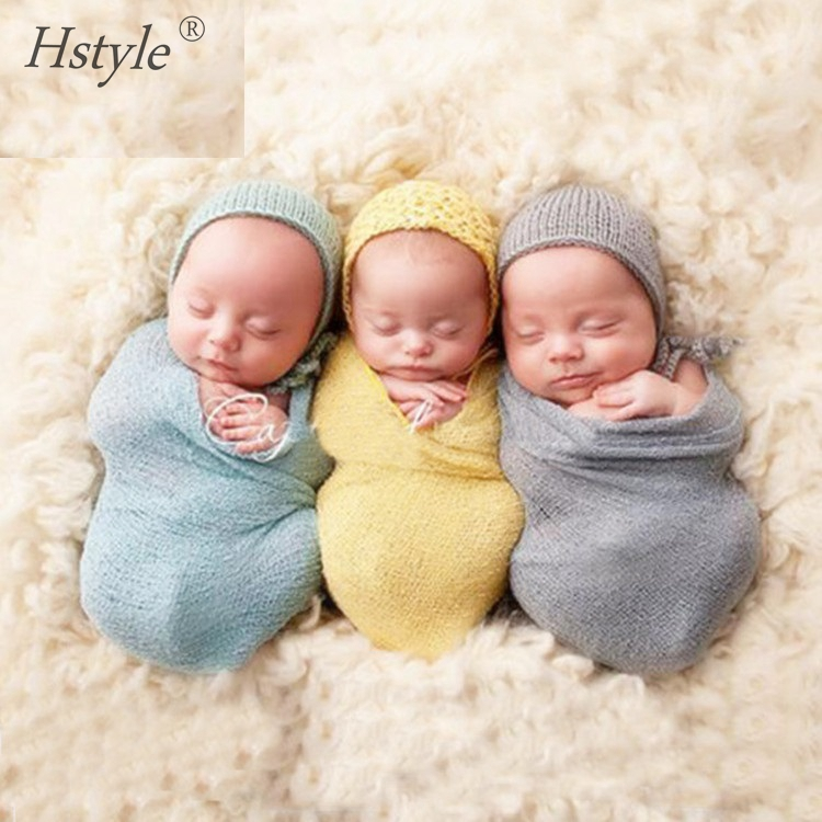 40*150cm Newborn Baby Stretch Wrap Photo Props Wrap-Baby Photography Props - Various Colors <strong>A001</strong>