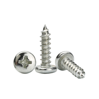 China Metal Self-tapping Thread Screw Manufacturer Custom m1.4 m2 m3 m4 m5 m6 Self Tapping Fasteners Screws For Plastic