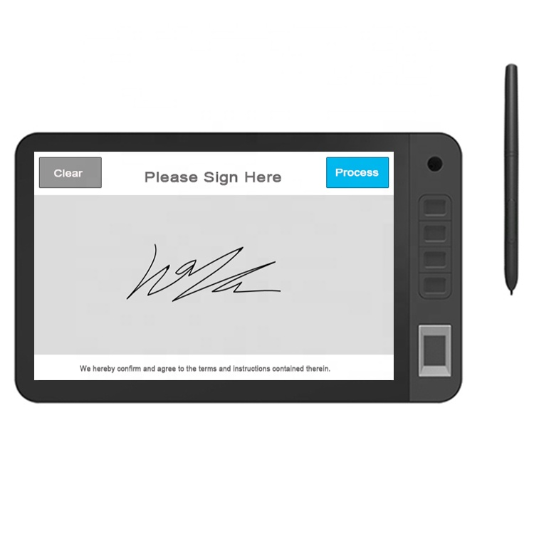 10.1inch electronic signature device