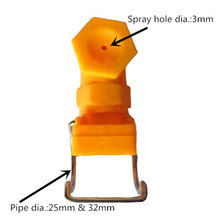 1 inch Hollow Cone Adjustable Plastic Clamp <strong>Nozzle</strong>