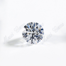 0.8mm to 3.0mm machine cut round white color aaaaa cubic zirconia <strong>stone</strong>