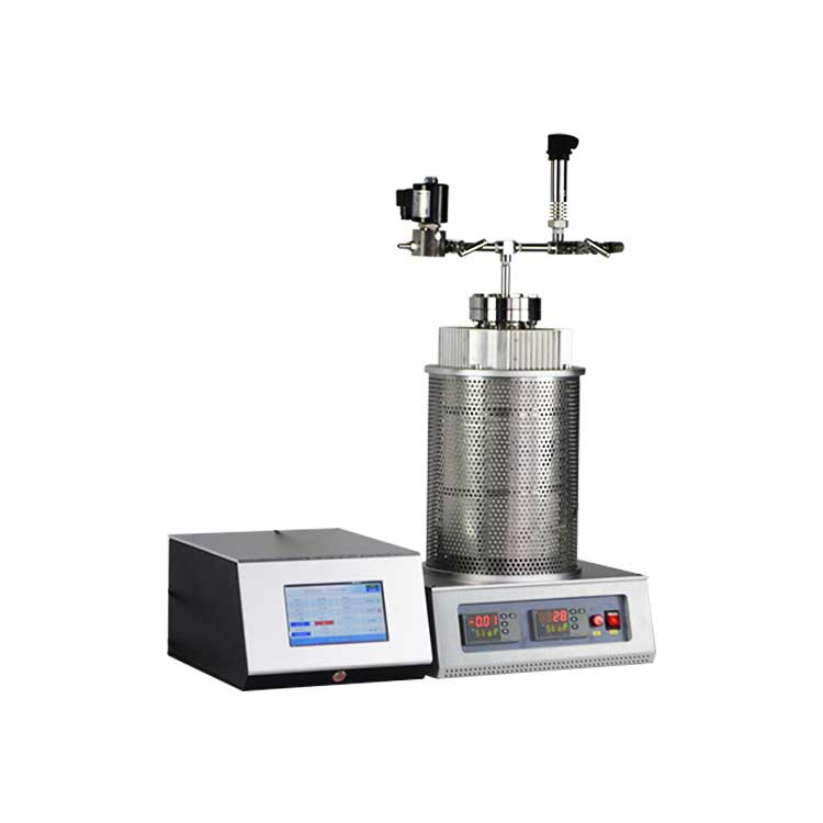 1100C high pressure reactor for heat treatment of sample under high oxygen pressure