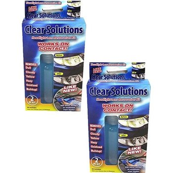 Wholesale Clear Solutions Headlight Lens Restoration Kit