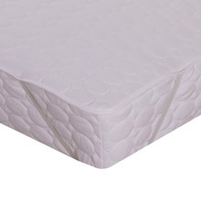 Hot selling microfiber premium hotel high quality mattress pad with elastic band