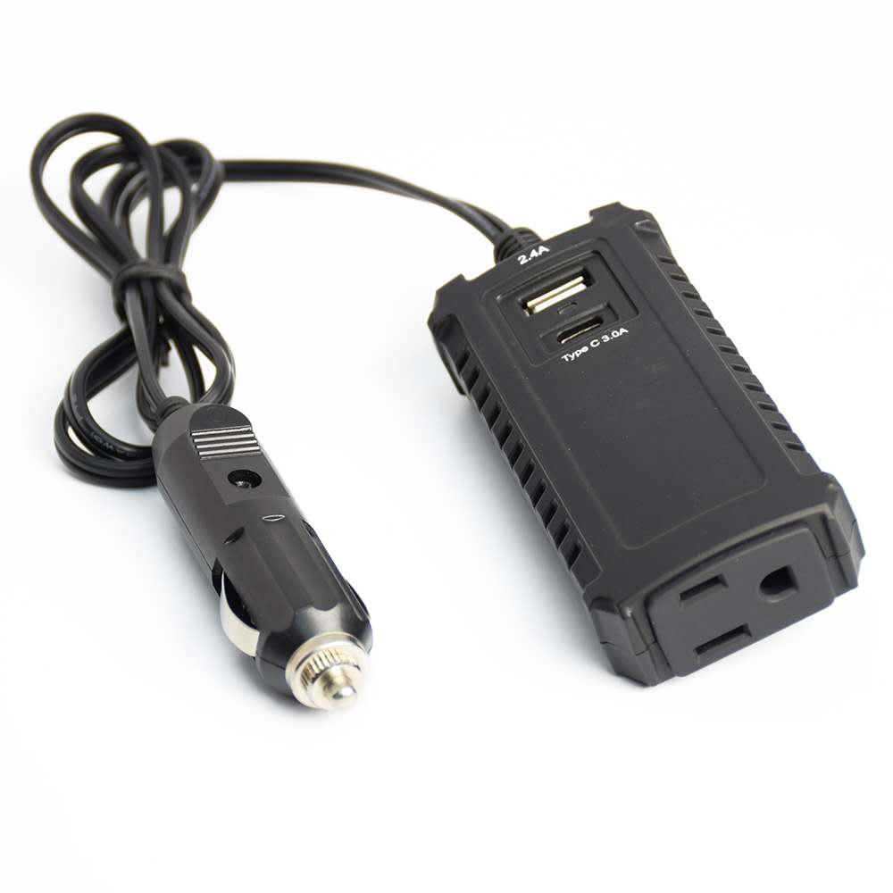 30W Power Inverter DC 12V to 220 AC Mini Car Inverter  converter  charger 3.1A Double USB