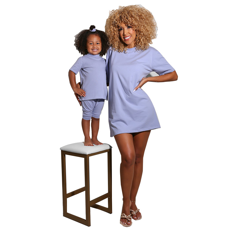 <strong>127</strong> hot sale mommy and me outfits 2 pieces set mommy and me sets 2 piece short set pajama
