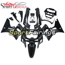 Full Fairing Kit For Kawasaki ZZR-400 1993 - 2007 94 95 96 97 98 99 00 <strong>01</strong> <strong>02</strong> 03 04 05 06 ABS Plastic Bodywork- Gloss Black Grey