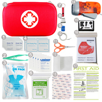 Hot wholesale mini waterproof eva medical first aid kit