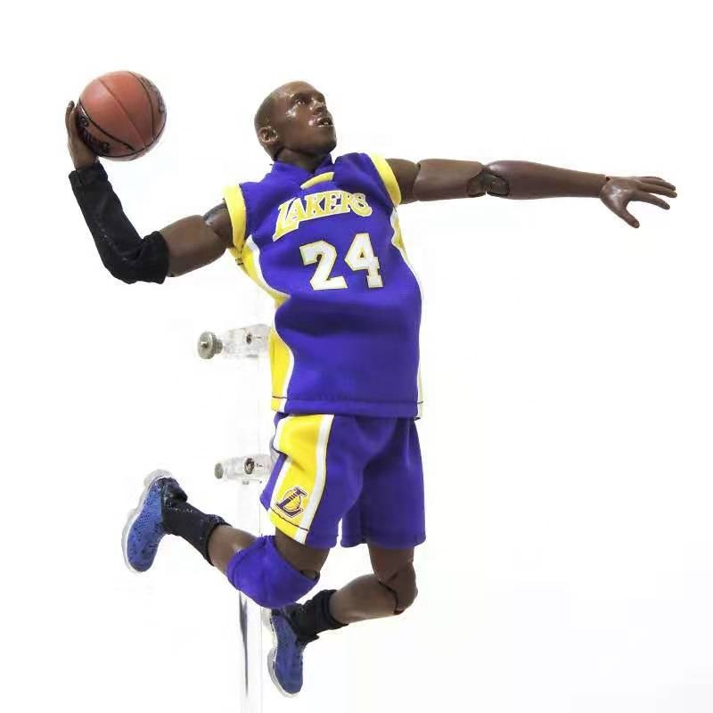 Jordan, Kobe, James and Curry NBA basketball players souvenirs with a <strong>model</strong> 1/9 human action figure