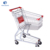 Factory Direct Marketing Supermarket Shopping Trolley Cart With Baby Seat US Series Zinc Plated