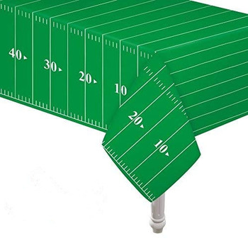 "Daily party table cloth 54""x108"" PE 0.03MM printed disposable table cloth"