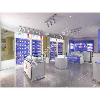 Mobile Phone shop kiosk Interior Design for Mobile Phone shop Decoration