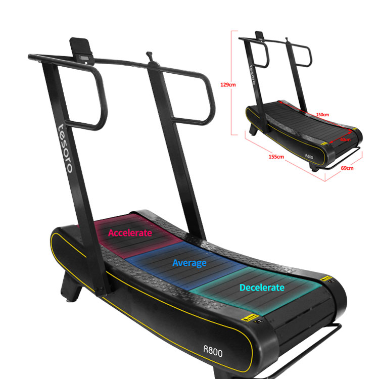 running machine treadmill,self-powered non-motorized curved manual treadmill,home gym machine <strong>fitness</strong>