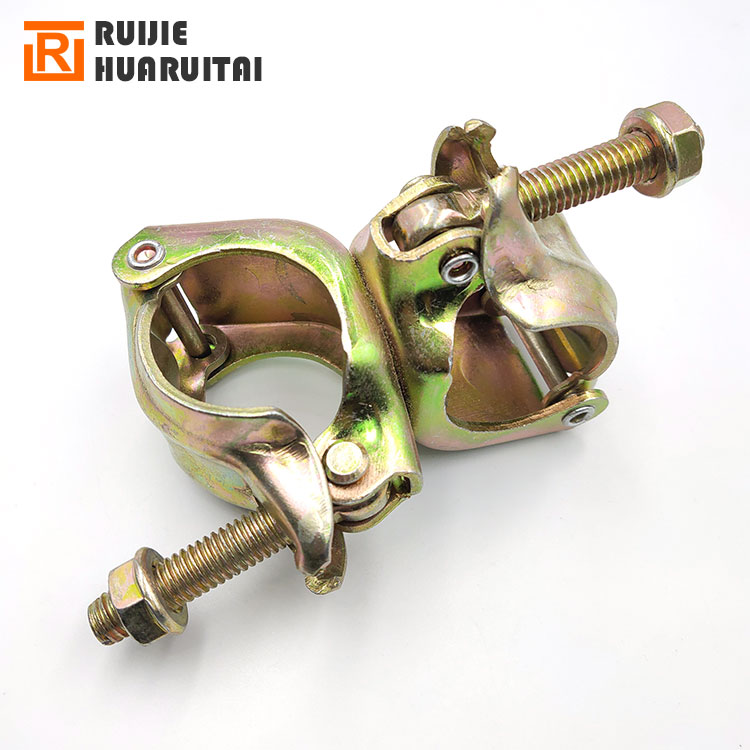 """20 Forged Galvanized 2/"""" ScaffoldingSwivel Clamps"""