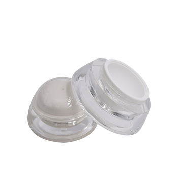 15g 30g UFO shape acrylic packaging plastic jar custom design empty jar cream plastic cosmetic