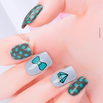 The Most Welcomed Product 2D Type Brilliant nail wrap equipment