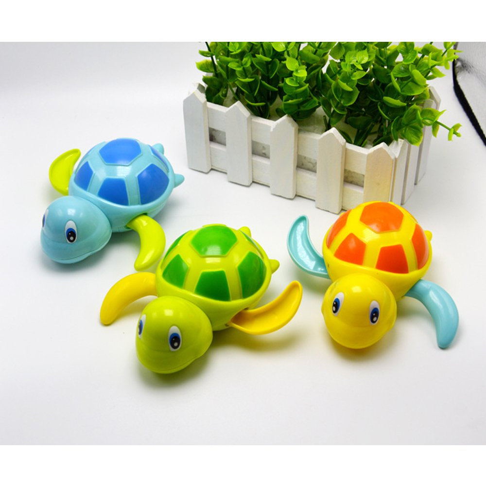 Baby Bath Toy Bathtub Toys for Toddlers, Floating Toys Wind Up turtle toys
