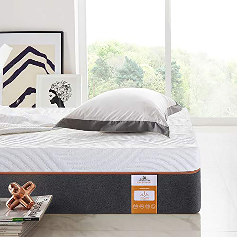 10 inch Top Mattress Beds with Gel Infused Memory Foam and Memory Foam, Queen Size - Jozy Mattress | Jozy.net