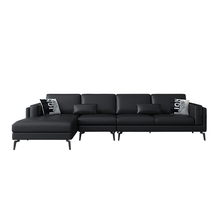 leathaire corner fabric cloth sofa modern sofa sets living room sofas <strong>furniture</strong>