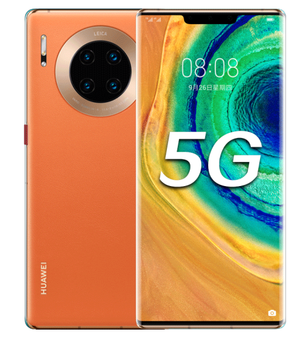 Dropshipping Original unlocked Huawei Mate 30 Pro 5G version Mobile phone, 8GB + 512GB, 6.53 inch, 4500mAh Battery, 2340*1080 5G