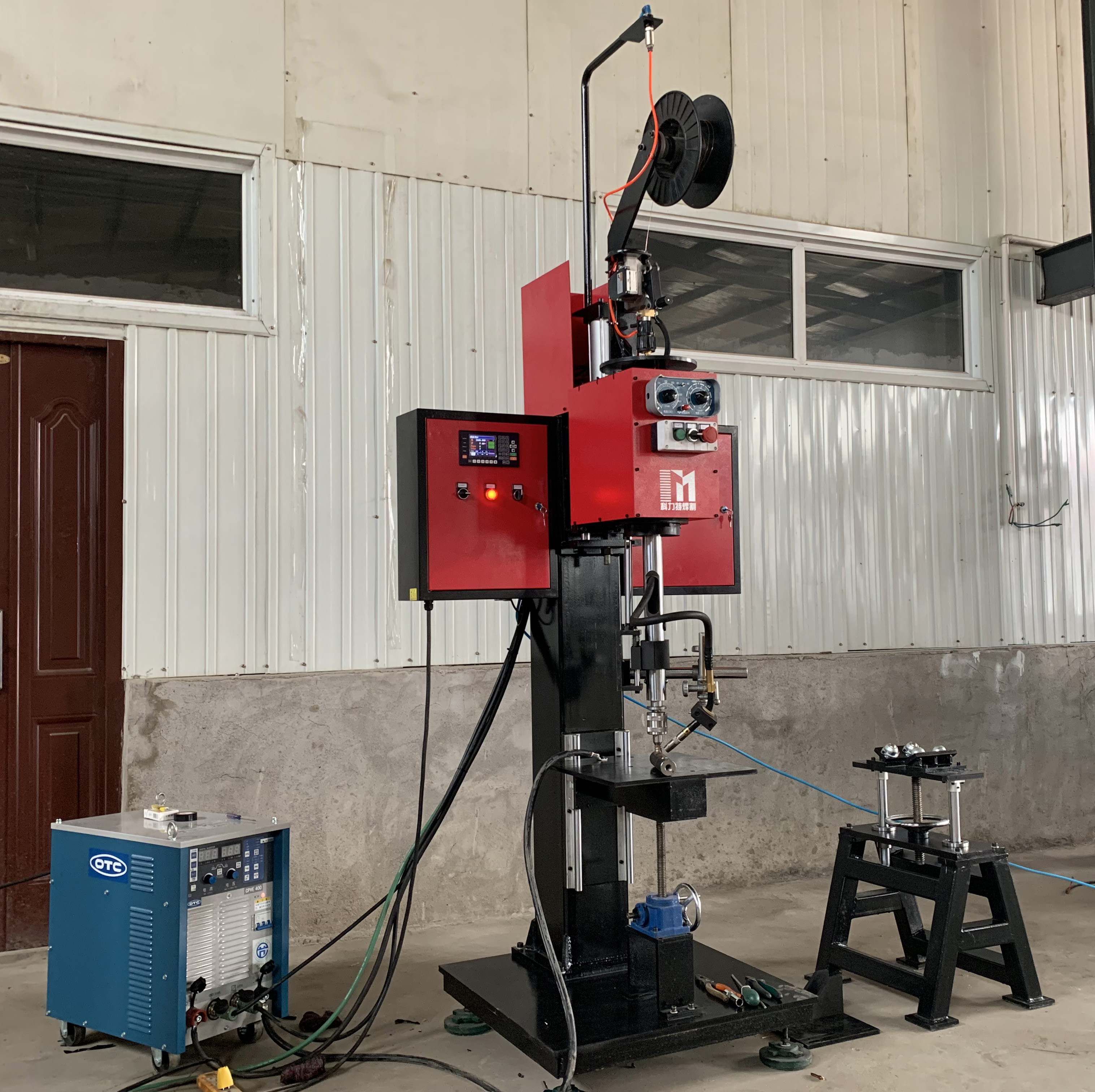 CNC control Welda-Round Rotary nuts Joint MIG Welder <strong>Welding</strong> KLTHG-LFH400C