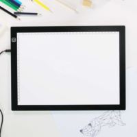 XZHAO New innovation China Supplier Super bright LED Tracing Board A4 USB drawing graphic table tracing light box memo pad