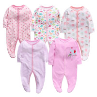 Hot sales high quality baby kids clothes long sleeve girl clothes set cotton baby clothes