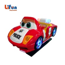 China Factory Sale Children Mall Police Car Game Machine Amusement Park Coin Operated Kiddie Rides For Sale