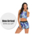 Blue Leaves Beachwear Patchwork Wholesale White High Waisted Swimsuit Letter Sexy Mermaid Two Piece Swimwear For Women