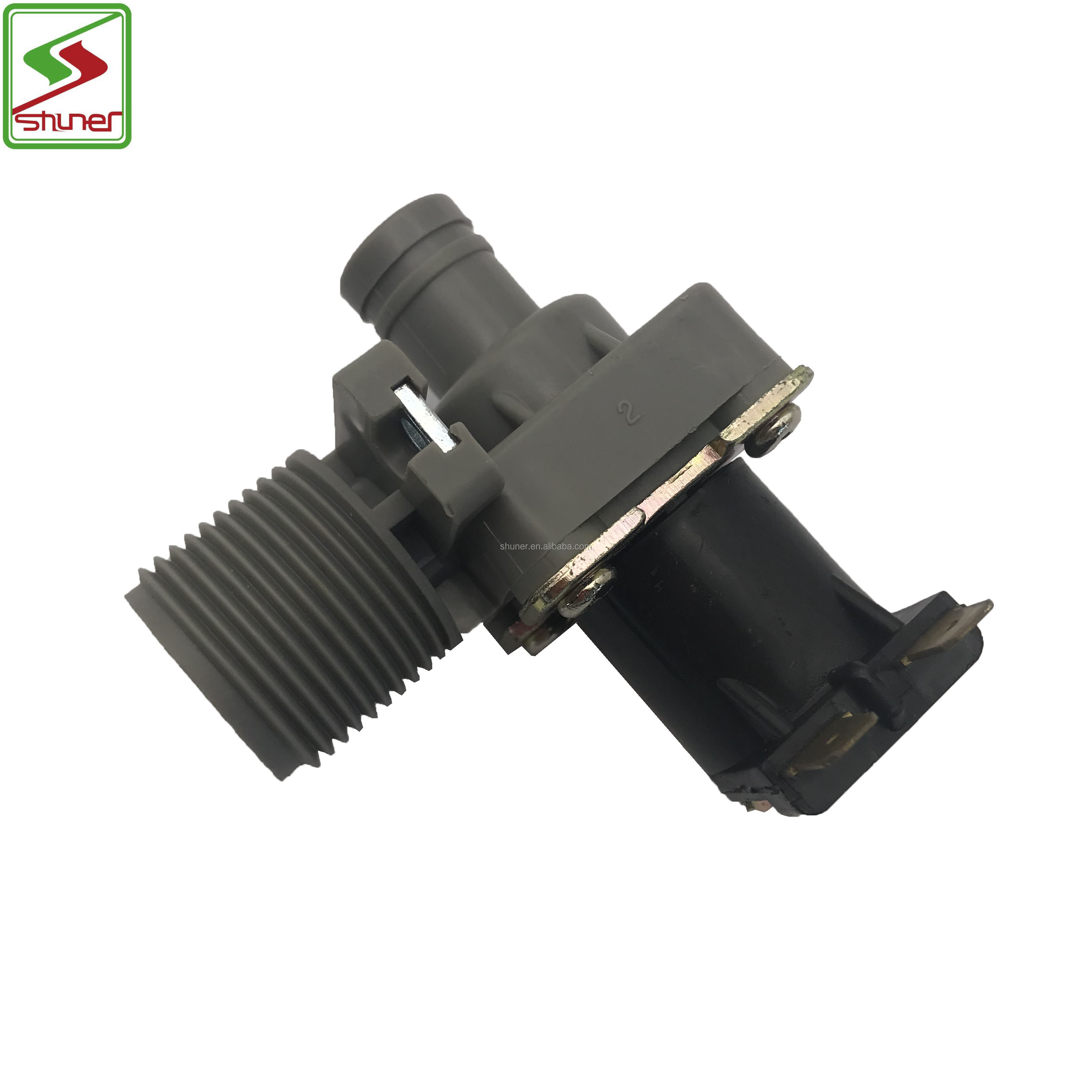 FCD270A Good sale Washing Machine valve Parts Black 32mA Washing Machine Water Solenoid Inlet Valve