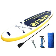 10.6' allround shape sup inflatable standup paddle board with backpack, hand pump, leash