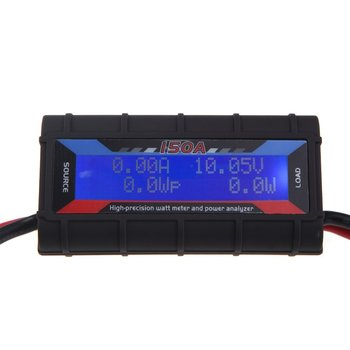High-precision RC 150A Digital Watt Meter and Power Analyzer w/Backlight LCD Display