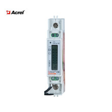 Acrel ADL10-E/C single phase lcd display Din rail smart energy meter with rs485 <strong>communication</strong>